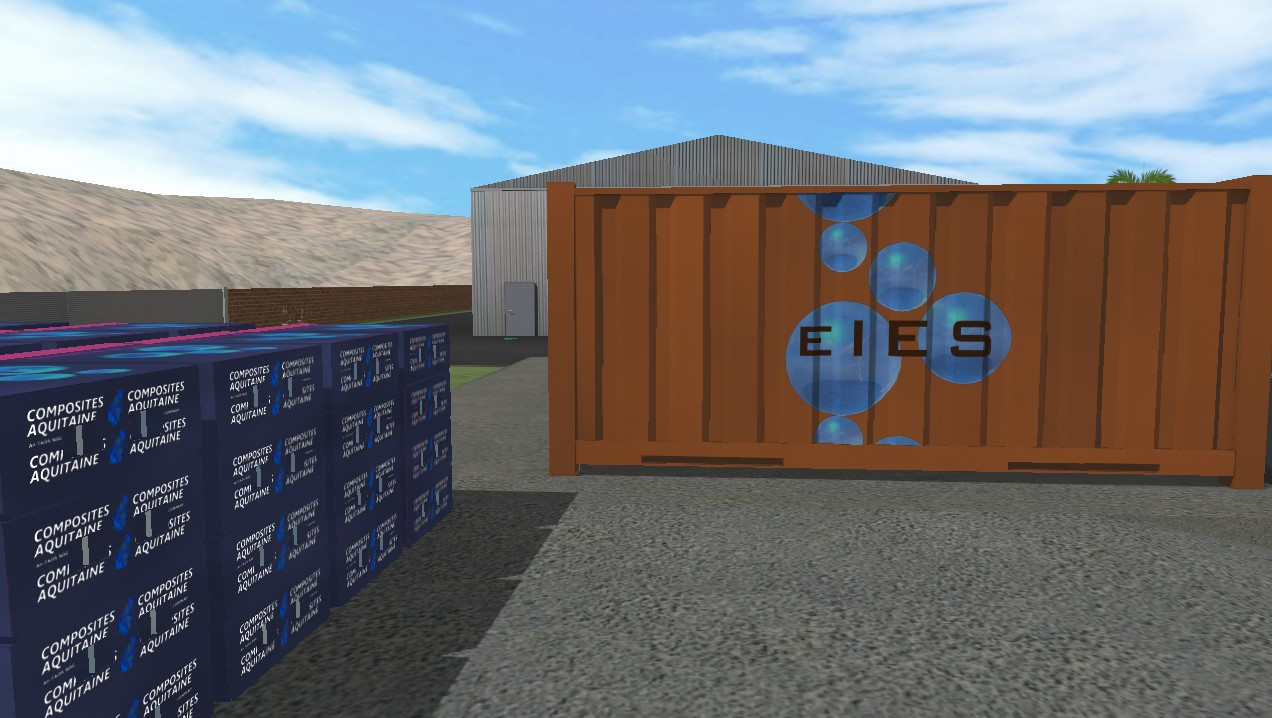 The EIES System container and power packs (POP)